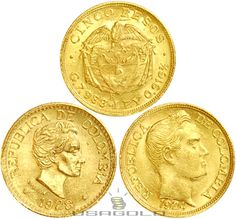 Colombian gold coins