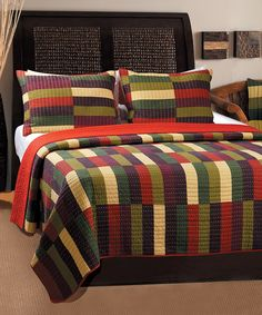 Another great find on #zulily! Jamison Quilt Set by Greenland Home Fashions #zulilyfinds