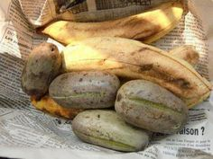Ripe plantain and plums: Cameroon food is diverse and unique. Our diversity is unique