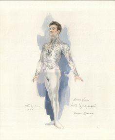 Snow-king Nutcracker: Illustrations by Robert Perdziola courtesy of Boston Ballet Nutcracker Costumes, Theatre Costumes, Ballet Costumes, Dance Costumes, Ballet Boys, Ballet Art, Ballet Dancers, Ballet Illustration, Ballet Drawings