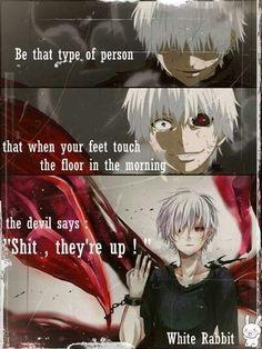 Mir! Ich möchte diese Person sein - #diese #ich #mir #möchte #Person #sein Ken Anime, Anime Life, Manga Anime, Sad Anime Quotes, Manga Quotes, Tokyo Ghoul Quotes, Juuzou Tokyo Ghoul, Savage Quotes, Dark Quotes