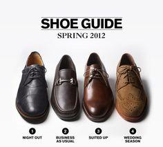 Men's Dress Shoe Guide at Nordstrom