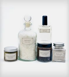 Pampering Body Care Gift Set  organic luxury  por MulleinandSparrow, $129.00
