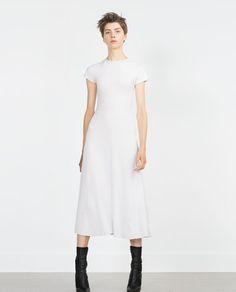 Image 1 of SHORT SLEEVE DRESS from Zara