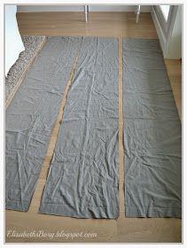 ElisabethsBorg.blogspot.com: DIY: Sengekappe uten å sy et sting