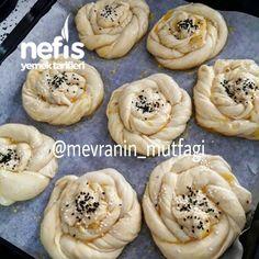 Gül Börek (Patatesli) - Nefis Yemek Tarifleri Turkish Recipes, Homemade Beauty Products, Snacks, Health Fitness, Breakfast, Desserts, Food, Yogurt, Pizza