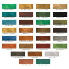 Valspar Semi Transparent Concrete Stain Colors For A
