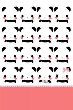 It's panda school! Cellphone Wallpapers, Hd Desktop, Iphone Wallpapers, Kawaii Cute, Kawaii Anime, Cute Wallpapers, Wallpaper Backgrounds, Paper Scrapbook, Panda Art