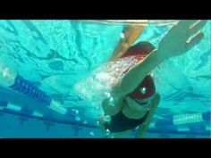 Tips for Swimming Better Freestyle - Balance drill progression - YouTube