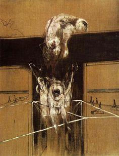 Francis Bacon, Frammento di una crocifissione, 1950