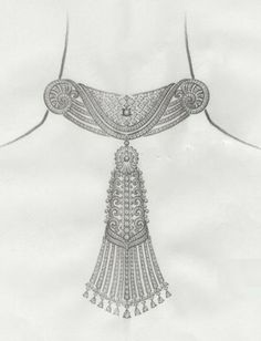 These Suggestions About Jewelry Will Give You What You Need To Know Holiday Jewelry, Jewelry Gifts, Jewelery, Handmade Jewelry, Beaded Embroidery, Embroidery Designs, Jewelry Design Drawing, Real Gold Jewelry, Jewelry Illustration