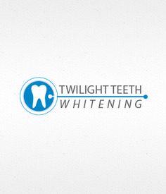 Teeth Whitening Logo design.