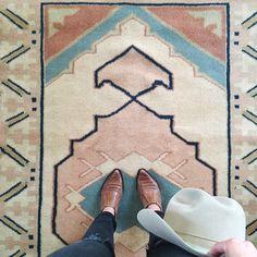 Frances Loom rugs.