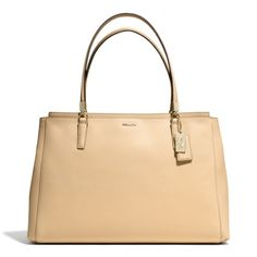The Madison Large Christie Carryall In Saffiano Leather from Coach