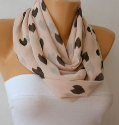 casual light pink with grey hearts