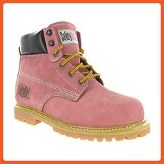 673bf2fc5a SafetyGirl Steel Toe Waterproof Womens Work Boots - Light Pink (get in brown )