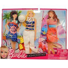 NIB- Barbie Fashionistas Day Looks Clothes - Nautical Sailor Outfits #Mattel #DollClothes