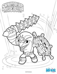 ShroomBoom coloring page from Skylanders Giants coloring pages ...