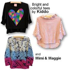 Some of Carly's favorite tops from Torly Kid