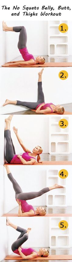 Doing this to get ready for the big day!!! The No Squats Belly, Butt, and Thighs Workout Check out the website for more