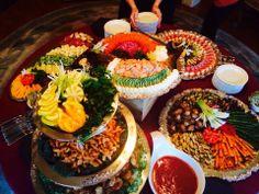 Chef Scott's amazing spread at the Magic Chef event - April 2014