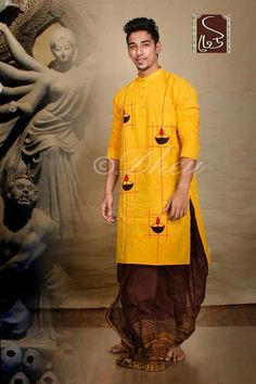 Mens Kurta Designs, Kurti Designs Party Wear, Gents Shirts, Indian Men Fashion, Mens Fashion, Gents Kurta, Boys Kurta, Fabric Paint Designs, Paint Shirts