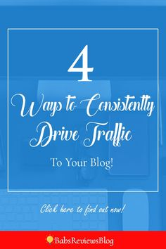 Would you like to learn how to do this to your website or blog consistently without failing? Click here to see my four no fail strategies for driving traffic back to your blog.