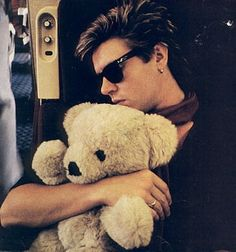 Simon LeBon, 1980's - One of my favorite pics when I was young(er)
