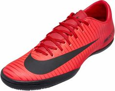 Fire! Burn the opponents with the Nike MercurialX Victory VI Indoor Soccer Shoes. Shop for them at www.soccerpro.com