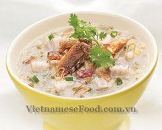 vietnamese recipies | Vietnamese Food: Vietnamese Eel Porridge Recipe (Chao Luon)