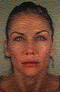 eric daigh: pushpin portraits