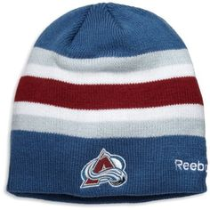 NHL Center Ice Official Team Player Knit Hat, Colorado Avalanche, One Size Fits All Reebok. $17.99
