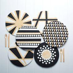 Urban Crafter Geometric Placemats DIY kit 2013