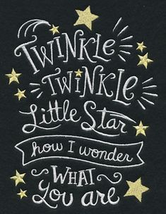 Twinkle, Twinkle, Little Star, How I Wonder What You Are