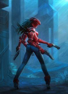 Cyborg Girl by Remy PAUL