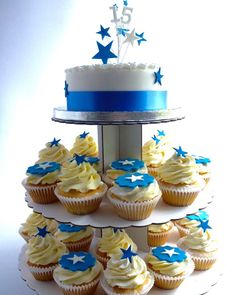 Cupcake Tree Star Spray Topper | Karen's Cakes