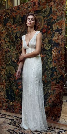 """Happy Monday! Today we have some really stunning eye candy courtesy of Lihi Hod's 2016 bridal collection. The collection, titled White Bohemian, features romantic wedding dresses in relaxed silhouettes and two-piece ensembles with delicately feminine detailing — perfect for the free-spirited bride. """"Inspired by """"boho-chic"""" style and..."""
