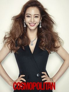 """Han Ye Seul looks gorgeous in her currently airing drama """"Birth of A Beauty"""" but she looks even more dazzling in diamonds for the December 2013 issue of Cosmo. Korean Beauty, Asian Beauty, Korean Celebrities, Celebs, Birth Of A Beauty, Han Ye Seul, Trending Haircuts, Korean Actresses, Korean Actors"""