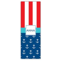 Anchor Mix Personalized Yoga Mat