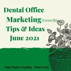 June 2021 Dentist Office Marketing Tips and Ideas | Movie Basket Gift, Dental Practice Management, Summer Reading Program, Outdoor Activities For Kids, Social Media Pages, Dental Health, Marketing Plan, Management Tips, Dental Offices