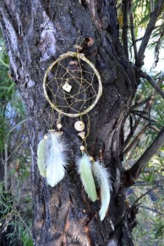 "Dreamcatcher ""Forest"" by CatWorkshopDream on Etsy"