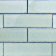 Byzantine Alice Blue Ceramic Tile