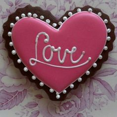 Love heart by South Avenue Sweets; Photo by southavesweets