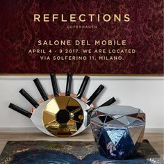 Reflections Copenhagen are participating in Salone del Mobile / Euroluce & Salone Ufficio 2017