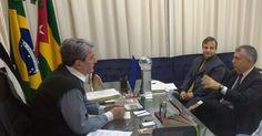 .: Pedretti participou de reunião com o vice-corregedor do TRT