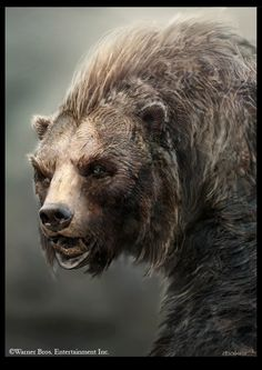 Concept art for Beorn by Andrew Baker in THE HOBBIT: THE DESOLATION OF SMAUG (2013) #lotr #middleearth #beorn #fantasy #thehobbit