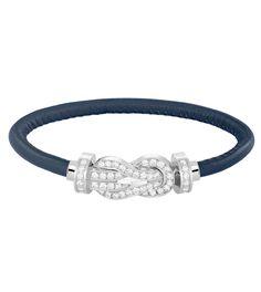 Le bracelet 8°0 de Fred en or blanc et diamants