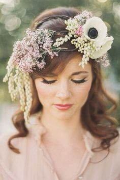 Bruidsmode haartrend: Boho | In White