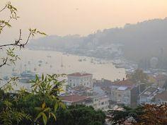 Foggy morning in Bebek Istanbul