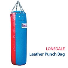 Lonsdale Leather Punch Bag  http://www.menshealthstore.co.uk/Lonsdale-Leather-Punch-Bag-Extra-Heavy/lid/11203